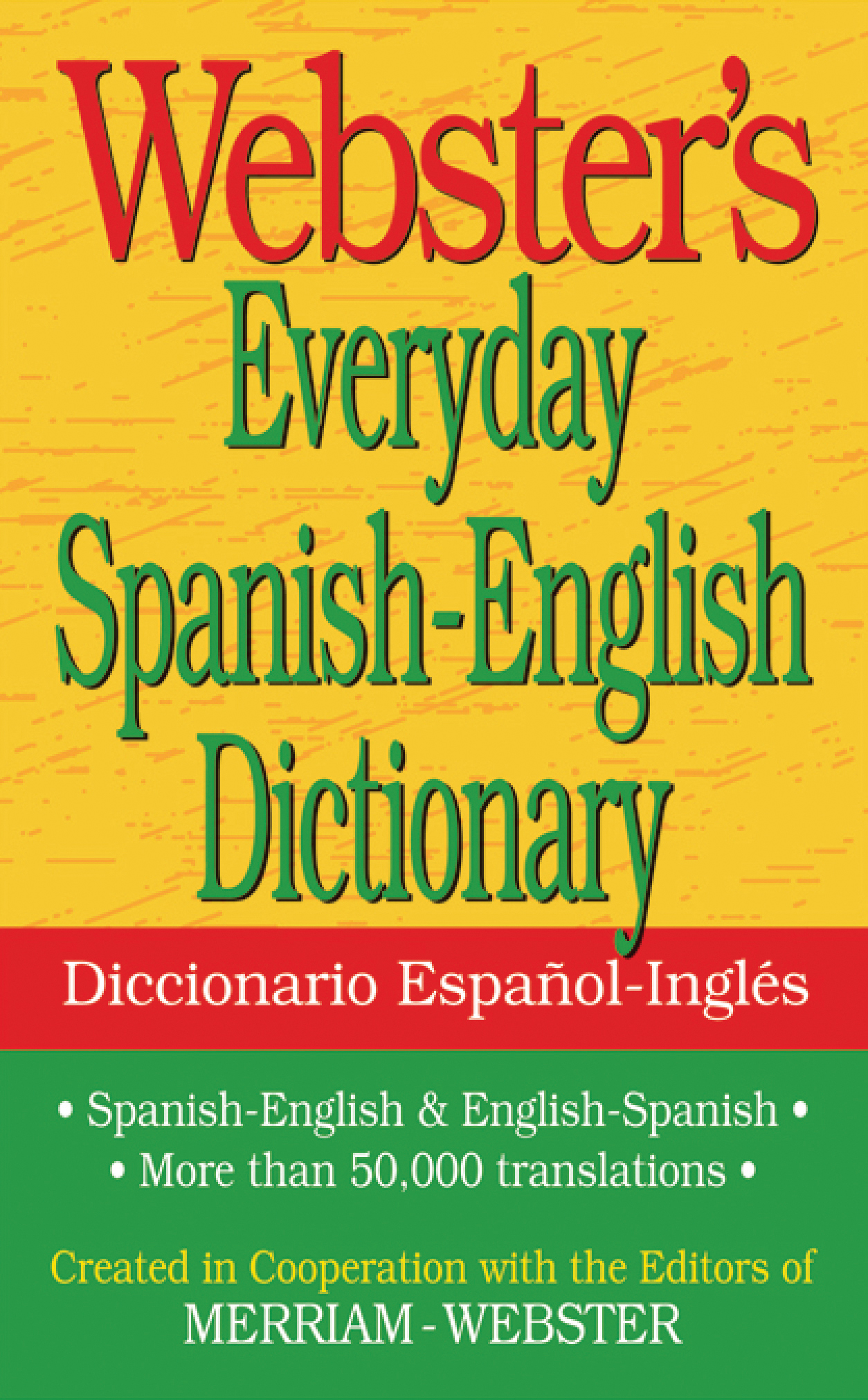 Webster's Everyday Spanish-English Dictionary | Federal