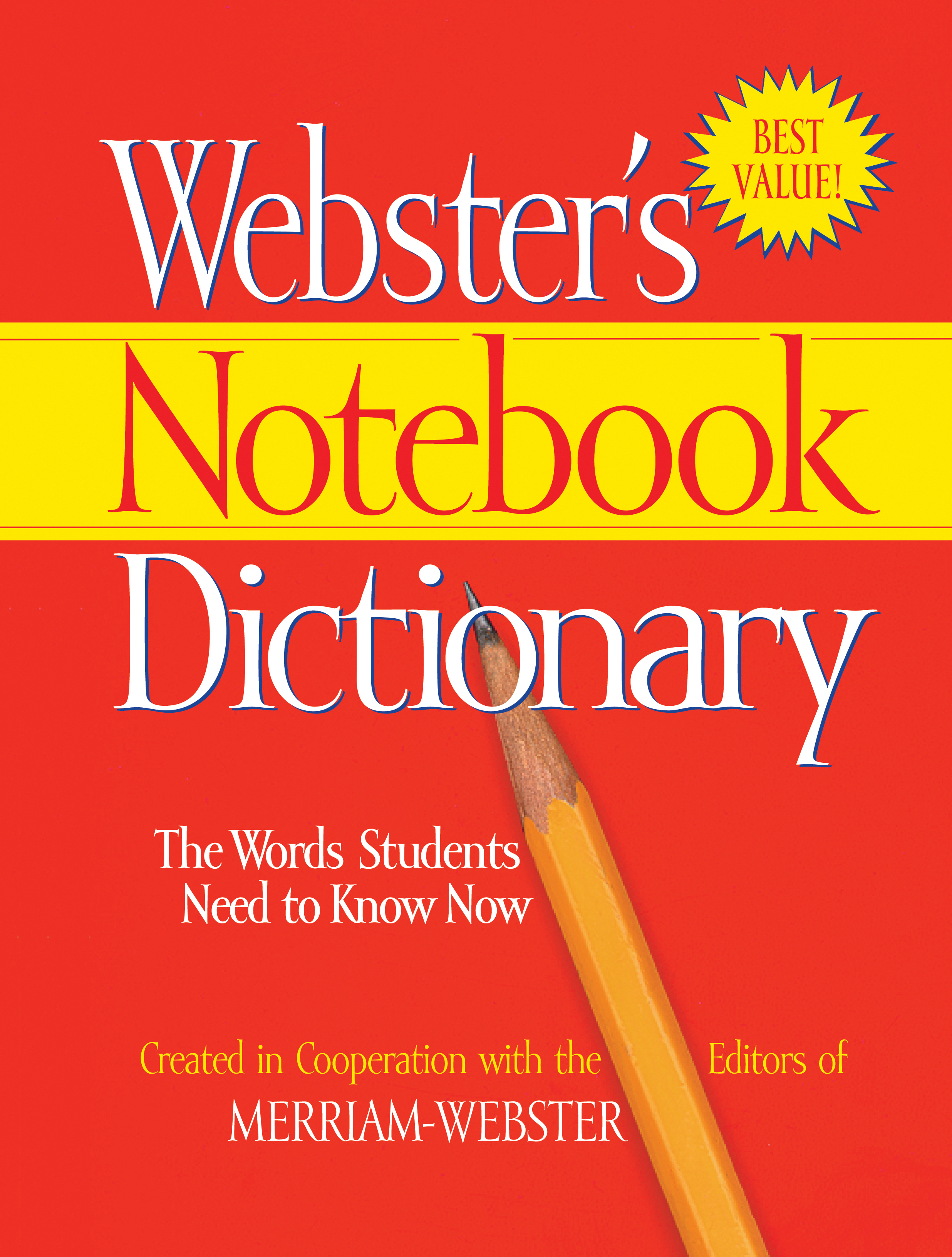 How To Make A Jpeg Book Cover : Webster s notebook dictionary federal street press